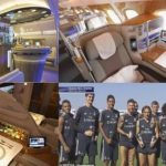 Inside Real Madrid's Luxury Jet With Beds, Showers And 2500 TV Channels (Photos)