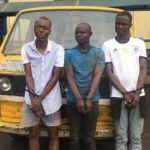 One chance commercial bus robbers on third mainland bridge nabbed by police