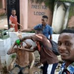 Tea or Muddy water? Nigerian students celebrate their graduation in really bizarre way (Photos)