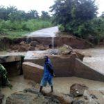 Residents lament as heavy downpour washes off Ondo bridge [PHOTOS]