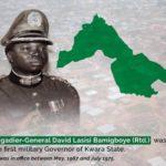 Former Kwara governor, Bamigboye is dead