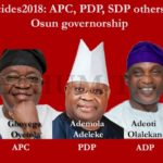 #OsunDecides2018 (LIVE UPDATES): APC, PDP, SDP, others battle