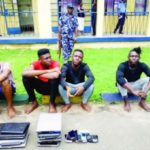 Nigerian men scam foreigner of €15,000, victim travels down to arrest them