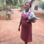 Photos: Nigerian woman returns to Secondary school after child bearing