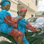 Elderly Couple Stunt On A Powerbike In Wedding Anniversary Photo Gone Viral