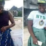 My Mother sold fish to train me in the university – Corps  member
