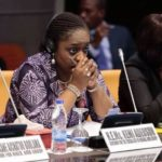 Kemi Adeosun Spotted At Abuja Airport, Jetting Out Of Nigeria Day After Resignation