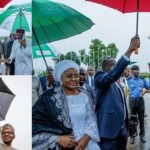 Pres. Buhari and wife depart Nigeria for the 73rd UN General Assembly in New York (PHOTOS)