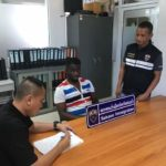 Thailand police arrest Nigerian man for unlawful entry (PHOTOS)