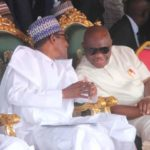 What Wike said during Buhari's visit to Rivers