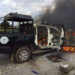 PDP primary election: Hoodlums attack policemen, set van ablaze in Delta