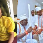 Faithia Williams reacts to Ooni of Ife remarrying for the third time