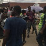 Lagos APC Primaries: Supporters Clash As Tinubu Drops Money In Alausa (Photos)