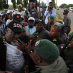 PDP protest: What police intend to do to Saraki, Ben Bruce and me – Dino Melaye