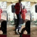 South African pastor performs miracle by stepping on member's buttocks