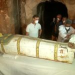 Egyptians Open Coffin Revealing 3,000-Year-Old Mummified Woman