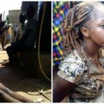 Update on student who 'ran mad' after being dropped by Lexus SUV in Ogun (Photos)