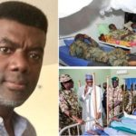 You can fake a visit, You can't fake compassion – Reno Omokri Trolls President Buhari