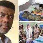 You can fake a visit, You can't fake compassion – Reno Omokri Trolls President Buhari