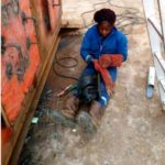 Meet Pretty Nigerian Lady who makes money from welding (photos)