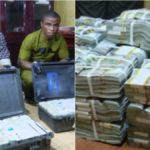 EFCC Arrests 2 Persons With $2.8m Cash In Suitcases