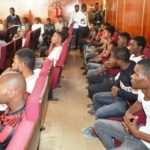 EFCC arraigns 24 yahoo boys in Ibadan