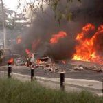 Just In: Dozen Die After Tanker Explosion In Lagos