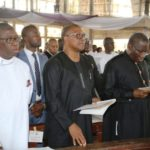 Okowa, Jonathan, Obi Others Bid Anenih Goodbye At Uromi