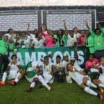 Nigerian Super Falcons edge South Africa to clinch the 2018 AWCON title