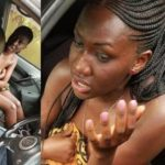 Couple caught having sex in a car, shamed by residents (photos & video)