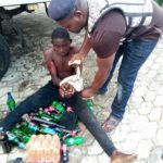 Drama As Robber Is Given A Bottle Of Beer To Drink After Being Caught In Bayelsa (Photos)