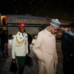 President Buhari arrives Poland (PHOTOS)