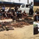 Police arrest suspected 7-man armed robbery gang in Enugu