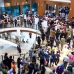 National Assembly staff protest non payment of allowances [PHOTOS]