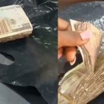 Shop owner cries out after scammers buys phone worth N110K with N1000 which later turned to N100 notes in Abuja (Video)