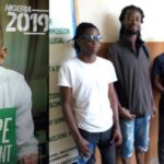 Police arrest six people for pasting posters of presidential candidate Omoyele Sowore at night in Lagos state