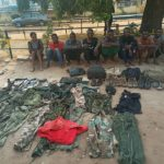 Armed Robbers Who Operate In Military Uniforms Arrested By Police. Photos