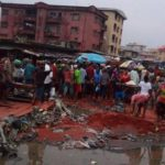 Young Lady Killed After Heavy Rainfall In Onitsha, Anambra State. (Photos)