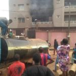 "Four ""Untrained"" Men Save Three Children From Burning Building In Nnewi (Photos)"