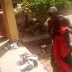 Man Apprehended With Female Pants, Bra And Soaked Sanitary Pad In Ondo (Photos)