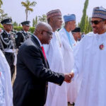 Pres. Buhari Meet Embattled CJN, Walter Onnoghen (Photos)