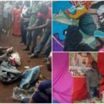 Pastor nabbed with bag filled with female pants and bra in Auchi, Edo state. (Photos)