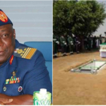 Alex Badeh laid to rest in Abuja (Photos)
