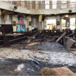 Many Killed As Bomb Blast Rocks Catholic Church During Sunday Mass. (Photos)