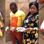 Female Pastor Disgraced By Villagers In Anambra After Being Caught With Fetish Items (Photos & Video)