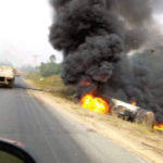 BREAKING: Many Feared Dead As Tanker Explodes In Cross River (PHOTOS)