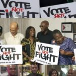 Presidential election: 2Face promotes nonviolence, visits candidates