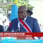 New DR Congo President Tshisekedi falls ill during inauguration speech