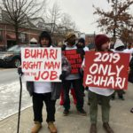 CJN: Nigerians Storm Streets Of New York, Urge United States, United Nations To Back Buhari (PHOTOS)