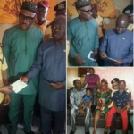 Wife of murdered LASTMA officer in tears as she receives N10Million from Lagos Govt